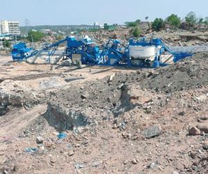 Hyderabad recycles construction and demolition wastes