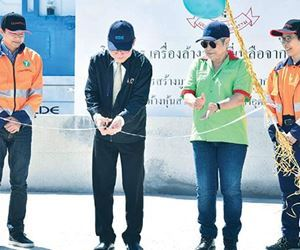 CDE Sand Washing Plant Launched in Thailand