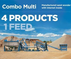 CDE unveils its latest manufactured sand wonder with internet inside - Combo Multi